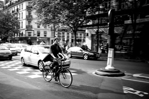 Paris Cycle Chic - Motion