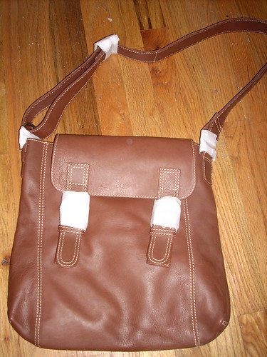 Boden leather satchel