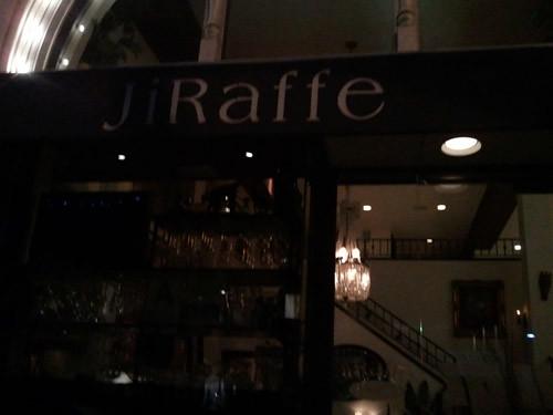 Oustide of Jiraffe Resturant