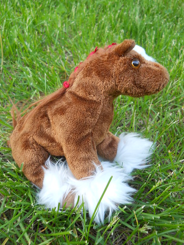 beanie baby Clydesdale