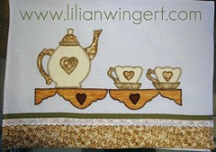 PANO DE PRATO CH (Lilian Wingert - Artesanato e Patchwork.) Tags: