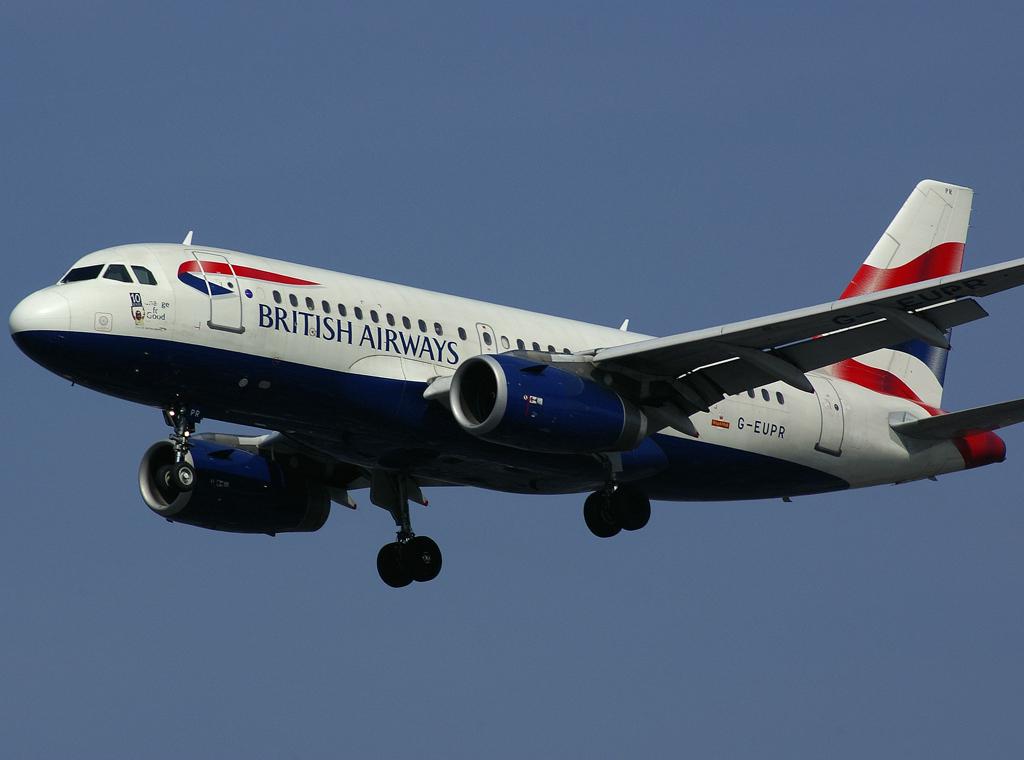 G-EUPR / Airbus A319-131 / 1329 / British Airways