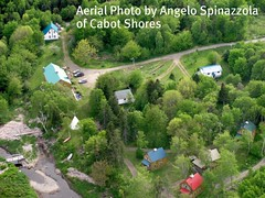 Photo from ultralight plane of Chris Law