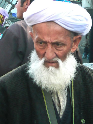 Old Man in Urgut Bazaar