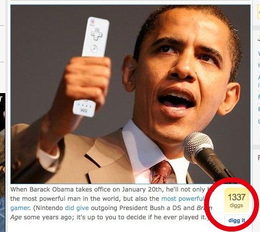 Obama 1337