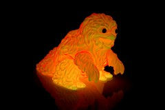 Gargamel crawling Hedoran - glow in the dark (fun9us) Tags: glowinthedark crawling gargamel gid hedoran