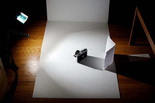 Zeiss Ikon Nettar 518/16 Strobist Setup