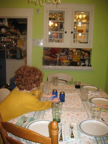 2009-01-13 Em Setting The Table