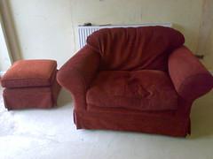 One and a half Seater Sofa (j0hncooke) Tags: sofa freecycle