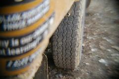 .....half way gone! (Shutter Theory) Tags: fish eye sticker pickup fisheye 1973 datsun butterscotch 620 l20b lakehughes bulletside pl620