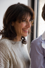 "Actor Lisa Edelstein (Dr. Cutty from ""House"") (Lindsay Beyerstein) Tags: girls house dc washington women politics health actress brunch actor choice obama inauguration plannedparenthood lisaedelstein"