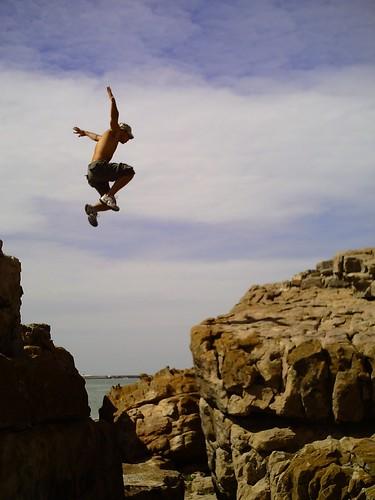 Free jump (Sifaka!)