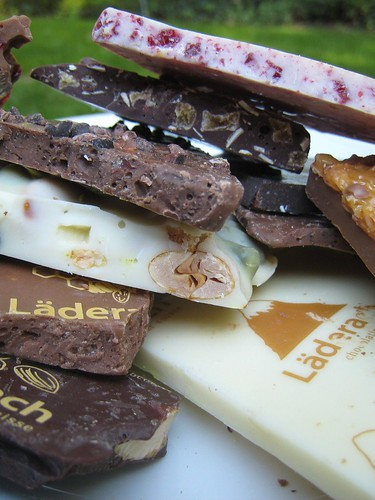 Laderach chocolate from Switzerland