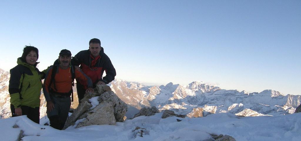 013- En la cima del Petit Vignemale (3.032 mts)