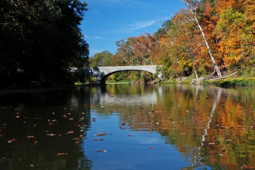 Canoeing Sugar Creek, Indiana