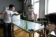 The Setup (Dan. D.) Tags: speed umbrella canon photography high flash setup splash 580ex highspeed 420ex strobist eldano