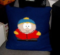 Cartman pillow
