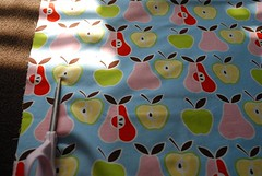 Cut out designer fabric