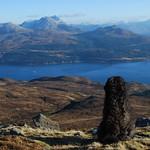 Dougal a' coimhead air Beinn Sgritheall thumbnail