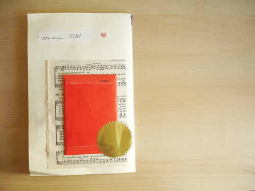 envelope book: five.