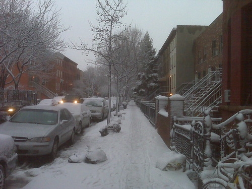 Our Street, Snow
