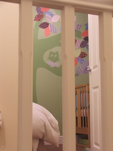 sneak peek of twins nursery