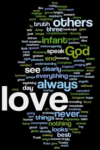 1corinth13 wordle 2 (iphone)