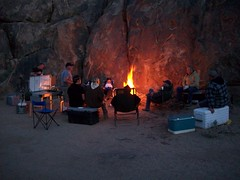 Campfire at Camp (AlishaV) Tags: california camp fire march 21 alabama hills campfire southerncalifornia friday 2008 alabamahills