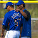Jerry Manuel and Johan Santana
