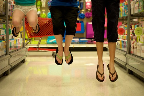 Fun In Target - Jump - Project365:39