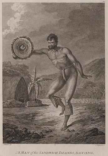 021-Un hombre de las islas Sandwich bailando