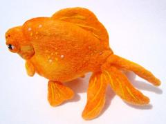Felt Goldfish 3