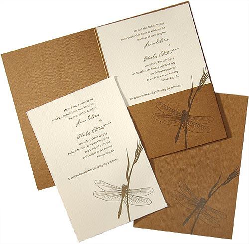 Eco Friendly Invitations From DeMilo Design