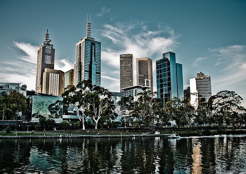 Melbourne and The Yarra