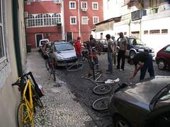 Cicloficina de Abril em Lisboa
