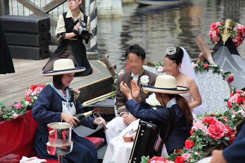 ゴンドラで結婚式