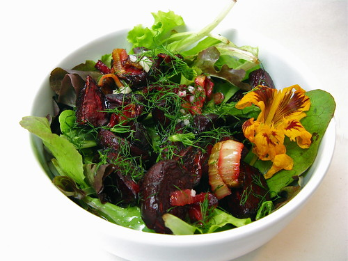Roasted Beet & Fennel Salad