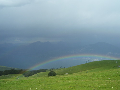 one rainbow