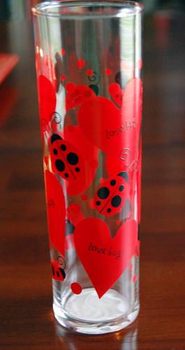 Ladybug Glass