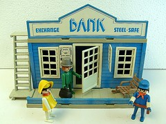 Set Playmobil Bank Trol (wagner_arts) Tags: