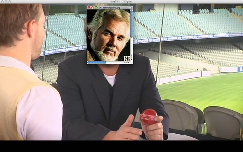 Kenny Rogers over Shane Warne