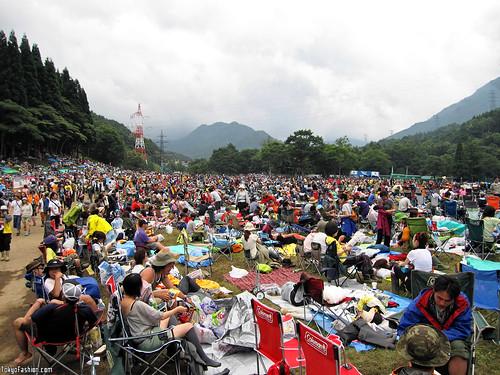 Fuji Rock Crowd Shot