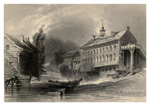 011 Molinos de la British Land Company en las riveras del Magog 1842
