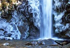 Cascada La Virgen / Bariloche / Colonia Suiza (Facu551) Tags: patagonia argentina rio de la casa waterfall suiza negro freeze colonia sur virgen frio arroyo bariloche lavirgen cascada piedra congelado coloniasuiza arroyolavirgen mecongel