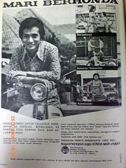 Honda C70: it's all about durability bro (d_erwin_irawan) Tags: dulu jaman iklan