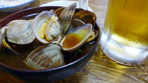 Red miso with clams
