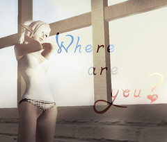 Where are you ([MaiMai]) Tags: light sun love wonder him photography waiting bright free sl mai secondlife lonely dare curious care miss longing wanting cisse freebies irockmkay