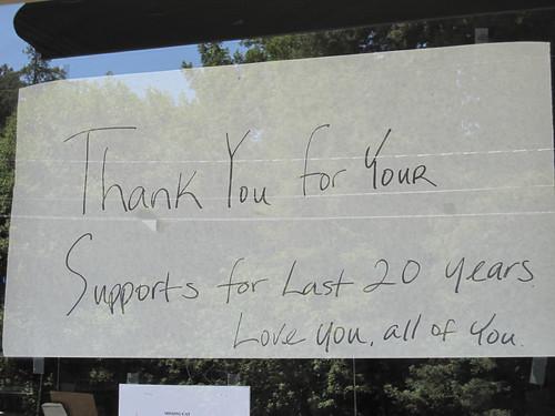 La Honda Pioneer Market closure