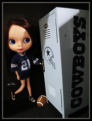 Is that Tony Romo's locker?