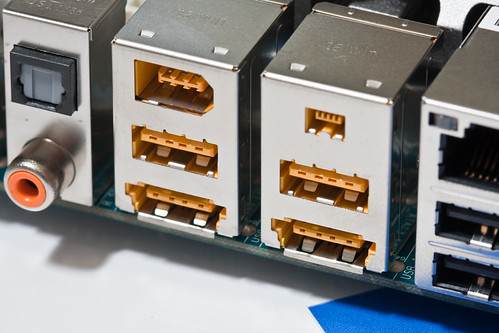 GIGABYTE P55-UD6 Motherboard Unboxed